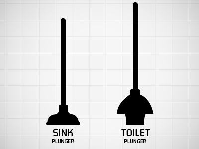 Different kinds of plunger